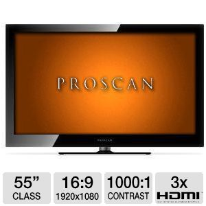 Proscan PLED5529A 55&quot; 1080p 120Hz LED HDTV