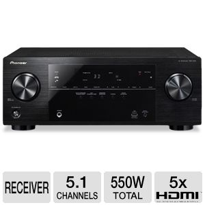 Pioneer VSX-522-K 5.1 Channel 3D A/V Receiver