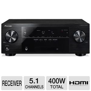 Pioneer VSX-822-K 5.1 Channel 3D A/V Receiver