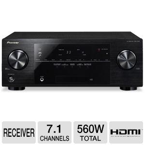 Pioneer VSX-1022-K 7.1 Channel 3D A/V Receiver