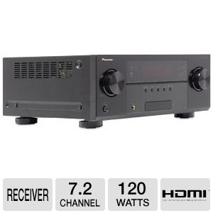 Pioneer VSX-1122-K 7.2Ch 3D Ready A/V Receiver 