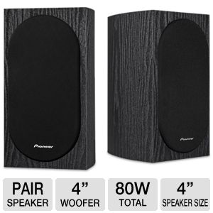 Pioneer Andrew Jones Design Bookshelf Loudspeaker