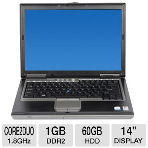 Dell Latitude D630 Core 2 Duo 60GB Notebook PC