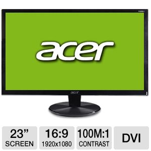 Acer 23&quot; Class Widescreen LED Monitor