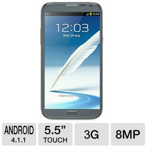 Samsung Galaxy Note II Grey Smartphone