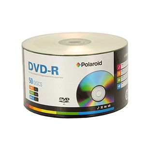 Polaroid 16X DVD-R 50 Pack Spindle