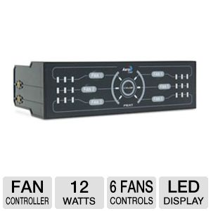 Aerocool F6XT LED Display Fan Controller