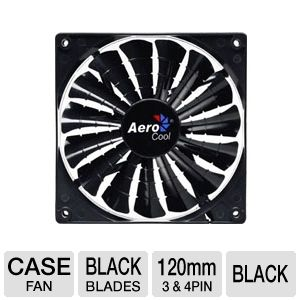 Aerocool Shark 120mm Black Edition Fan