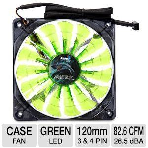 Aerocool Shark 120mm Green Edition Cooling Fan