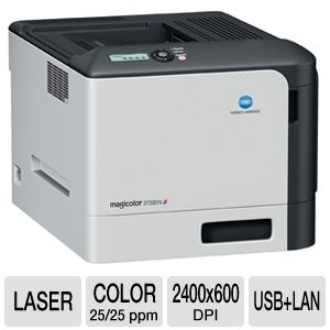 Konica magicolor 3730dn Color Laser Printer 25ppm
