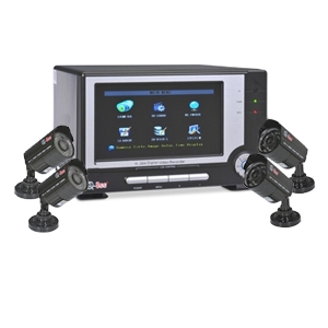 Q-See QR4074-426-2 Monitor & DVR Security System