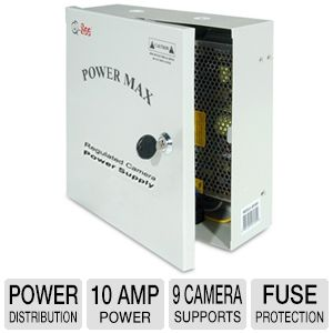 Q-See QS1009 Power Distribution Panel