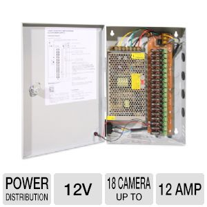 Q-See QS1018 Power Distribution Panel