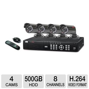 Q-See 8-CH network DVR surveillance system