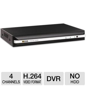 Q-See 4 Channel Real-time DVR Security System