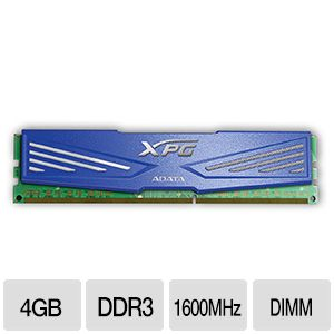 A-Data XPG V1.0 (1 x 4GB) DDR3-1600 Memory