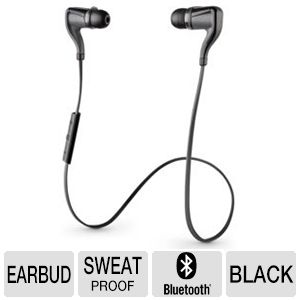 Plantronics BackBeat GO 2 Black Wireless Earbuds -