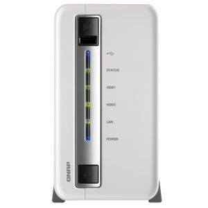 QNAP TS-212-E 2 Bay Home & SOHO 1.6 GHz NAS REFURB