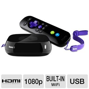 Roku 3 1080p Streaming Media Player