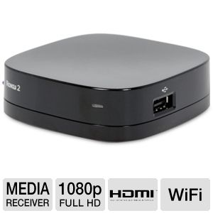 Roku 2 XS Streaming 1080p  WiFi Media Receiver
