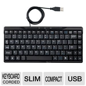 Raygo R12-40860 Compact USB Keyboard