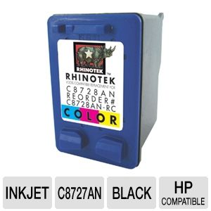 Rhinotek Compatible for HP 28 / C8728AN Color Ink