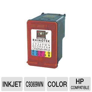 Rhinotek Compatible HP C9369WN Color Ink 1 Pack