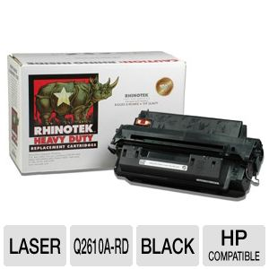 Rhinotek for HP Q2610A Black Toner (6K Yield)