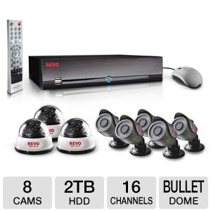 Revo 16-CH 2TB Security System
