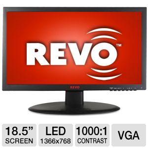 REVO High Resolution Color LED Monitor