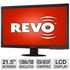 Revo 21.5&quot; Security LCD Monitor