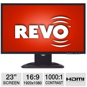 "Revo 23"" Wide LCD Security Monitor"