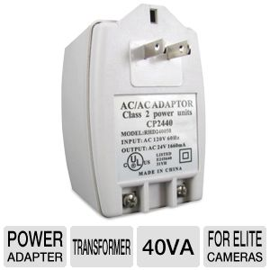 Revo 24V AC Transformer for Elite Cameras
