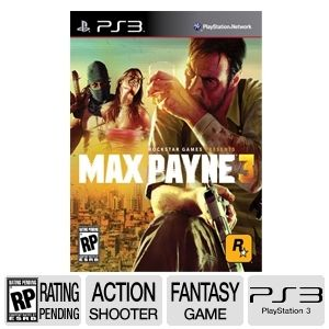 Max Payne 3 Action Shooter Video Game