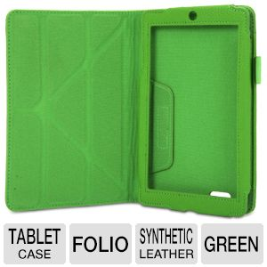 rooCASE Green Origami Folio Case