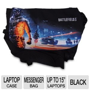 Razer Battlefield 3 Laptop Messenger Bag