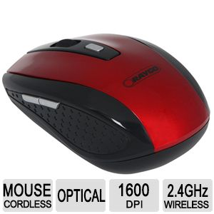 Raygo® 6 Button Wireless Optical Mouse