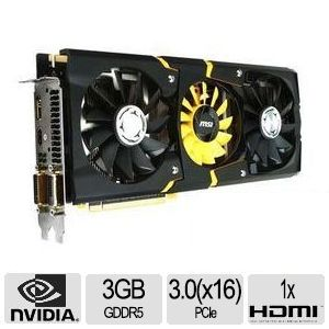 MSI GeForce GTX 780 Video Card