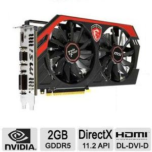 MSI GeForce GTX 750 Ti Gaming Video Card