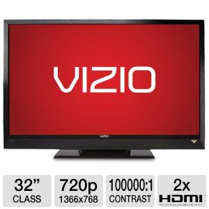 "Vizio E321VL 32"" 720p 60Hz LCD HDTV Refurbished"