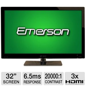 "Emerson LHD32K20US 32"" 720p 60Hz LED HDTV"