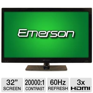 Emerson LHD3220UNB 32&quot; 720p 60Hz LED HDTV Refurb