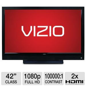 Vizio E421VO 42&quot; 1080p 60Hz LCD HDTV Refurb
