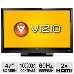 "Vizio E470VLE 47"" 1080p 60Hz LCD TV Refurb"