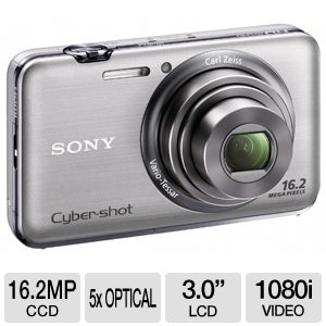 Sony WX9 Cyber-shot 16MP Digital Camera  REFURB