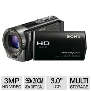 Sony HDR-CX160 Flash Memory Camcorder REFURB