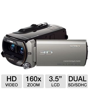 Sony 64GB Full HD 3D Camcorder REFURB