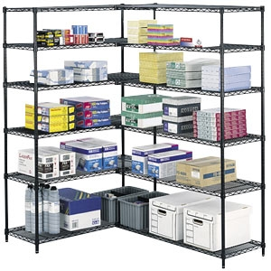 Safco Wire Shelving