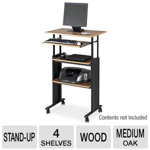 Safco 1929MO Muv Adjustable Height Workstation