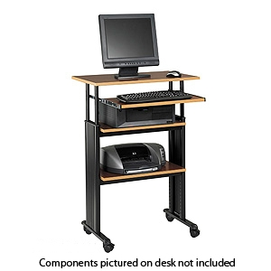 Safco 1929CY Muv Adjustable Height Workstation